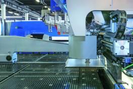 Neue Fertigungslösung für zugeschnittene Bleche