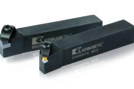 Kennametal kombiniert mit Beyond Shield™ neuartiges Klemmsystem mit neuen PCBN-Sorten