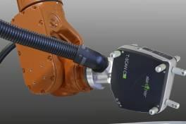 Roboter mit aufgesetztem Laserscanner vereinfacht automatisierte Messungen