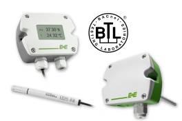 Feuchte & Temperatur Messumformer mit BACnet-Schnittstelle