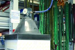Prozesssichere Fassdrahtversorgung über 50 Meter