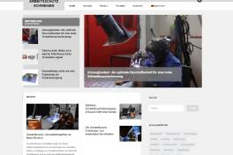 Internetportal für Arbeitsschutz beim Schweißen