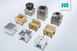 Elektrodenhalter aus Stahl, Messing und Alu