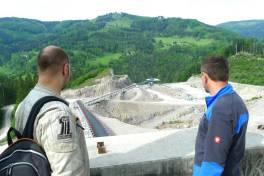Das Steinbruch-Kraftwerk