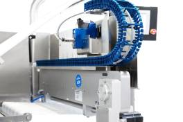 Kunststoff-Energiekette nach Hygienic Design Richtlinien