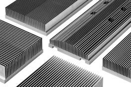 Effiziente Kühlkörperlösungen aus Aluminiumvollmaterial
