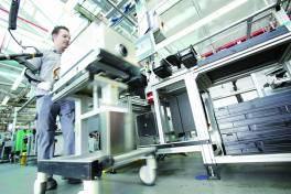 Produktionssteuerung per RFID