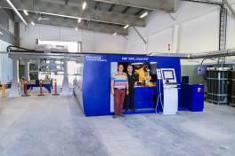 Kapazität und Qualität dank Fiberlaser erhöht