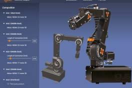 Industrietaugliche Roboter frei konfigurierbar