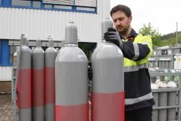 Sicherer Umgang mit Gasflaschen