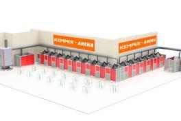 Kemper-Arena auf der SCHWEISSEN & SCHNEIDEN