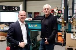Sato und Innomax bündeln Kräfte