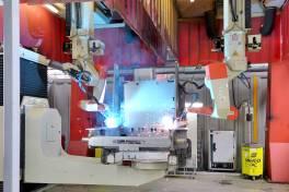 Automatisiertes Qualitätsschweißen für sicheren Staplerbetrieb