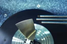 Berührungslos Rotor- und Turbinenschaufeln messen