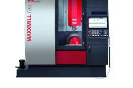 Vertikalfräsmaschine für die 5-Seiten-Bearbeitung