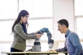 Agiler Single-arm Roboter