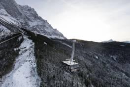 In Höchstleistung auf die Zugspitze