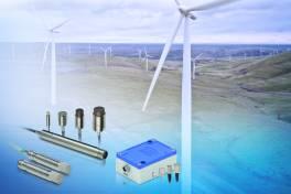 Sensorlösungen für zuverlässigen Windkraftanlagen-Check