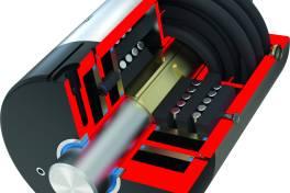 Klemm- und Bremselemente mit integrierter Sensornut