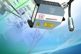 Kompakter Laser-Sensor mit großem Messbereich