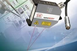 Leistungsstarker Laser-Sensor mit großem Messbereich