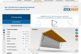Neues Online-Gasfeder-Berechnungsprogramm