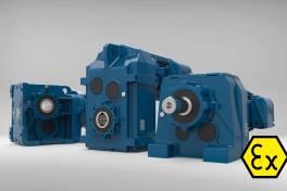 Kosteneffiziente ATEX-Getriebemotoren der WG20-Reihe