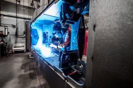 TPS 500i: Modernste Schweißtechnik für den Skorpion