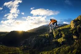 Gedruckter Fahrradrahmen aus Titan