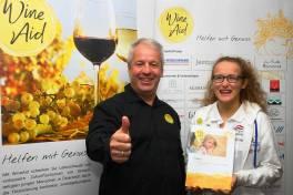 WineAid zum 10jährigen Bestehen: Unterstützung von WM-Schwimmerin
