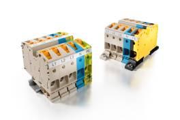 Klippon® Connect-Reihenklemmen mit PUSH IN-Power Anschluss