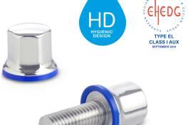 Edelstahl-Schrauben und Muttern in Hygienic Design