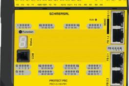 Sicherheitssteuerung mit integriertem OPC UA-Server
