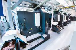 Pionier vollautomatisierter CNC-Bearbeitung