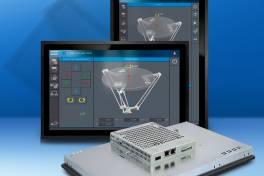 Flexibel kombinierbare Widescreen-HMIs