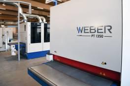Kanten- und Oberflächenbearbeitung mit Schleif- und Entgratmaschinen PT 1350