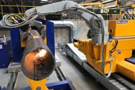 Rohrschneiden mit Roboter-Technologie