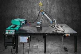 Schweißroboter-Komplettsystem WeldROB
