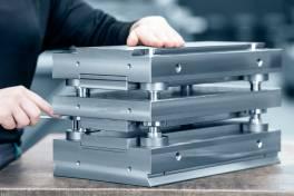 Standardisierte Stanzbiegegestelle für Bihler-Pressen