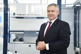 Geschäftsführerwechsel bei Trumpf Österreich
