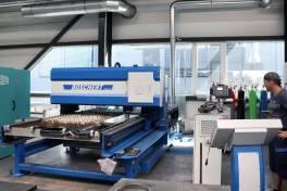 Plasmamaschine ErgoCut für wirtschaftliche und schnelle Bearbeitung in einem Arbeitsgang
