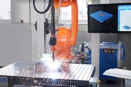 Effizientes Roboterschweißen von kleinen Losgrößen