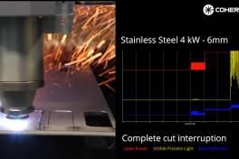 Vereinfachte Überwachung von Faserlaserprozessen
