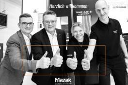 Mazak mit Niederlassung in Österreich