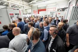 Hausausstellung mit aktuellen Trends im Maschinenbau