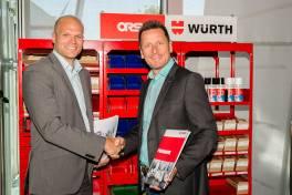 Pneumatik-Komponenten immer griffbereit – Kundennähe in Partnerschaft von SMC und Würth