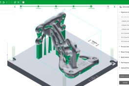 CADS Additive: AM-Studio auf EOS-Metallsystemen
