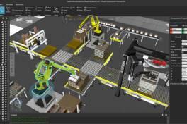 Software-Portfolio um 3D-Fabriksimulation erweitert