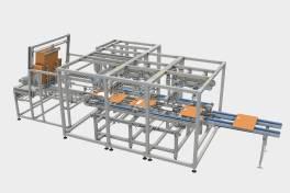 MOVI-C® automatisiert Kartonzuschnitt mit integriertem Produktschutz