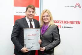 Von Leibetriebe Austria ausgezeichnet